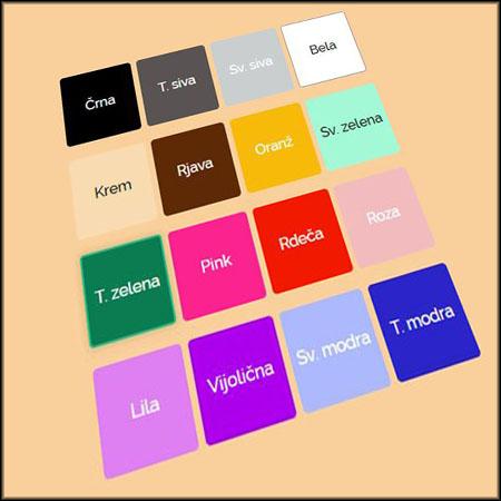 Copati v vaših barvah